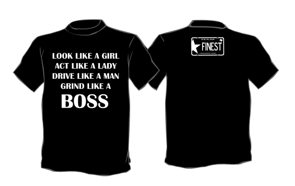 Grind Like a Boss Shirt